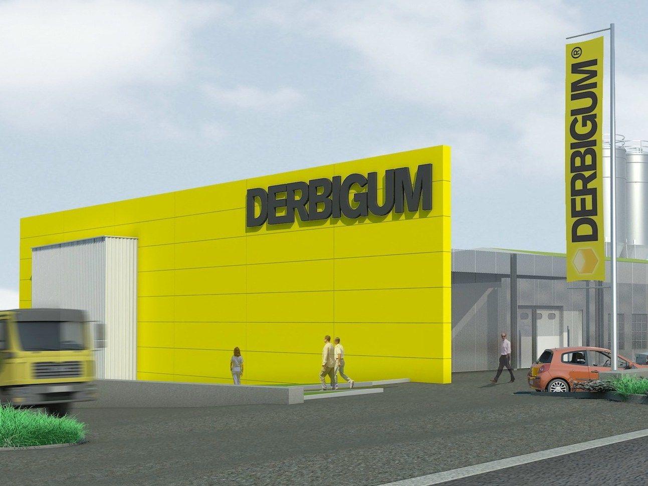 Si rinnova la sede del gruppo Derbigum a Lot, in Belgio