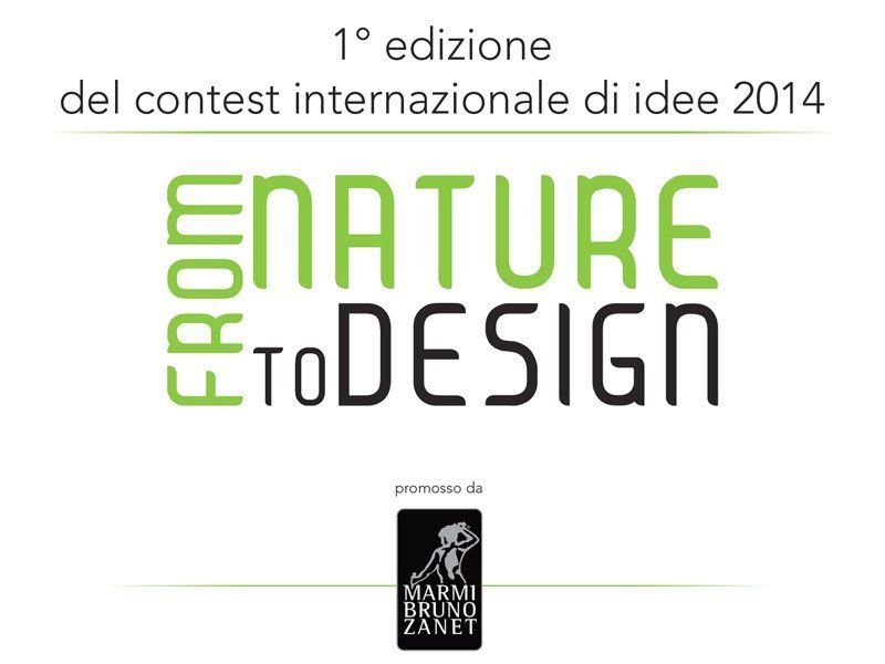 "Al via il contest internazionale 2014 ""From Nature to Design"""