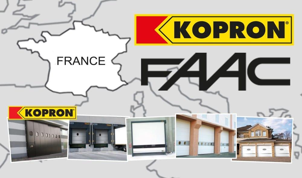 Faac France & Kopron France stringono un accordo per affrontare insieme le sfide del mercato francese