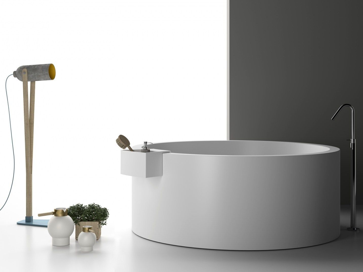 Vasca Da Bagno Freestanding Corian : Planit presenta la nuova vasca freestanding in corian