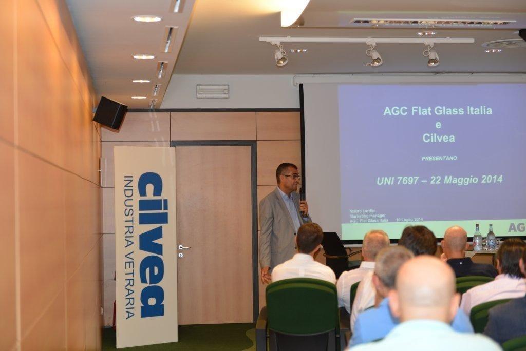 AGC Flat Glass Italia e Cilvea per la guida alla lettura della nuova norma UNI 7697 2014