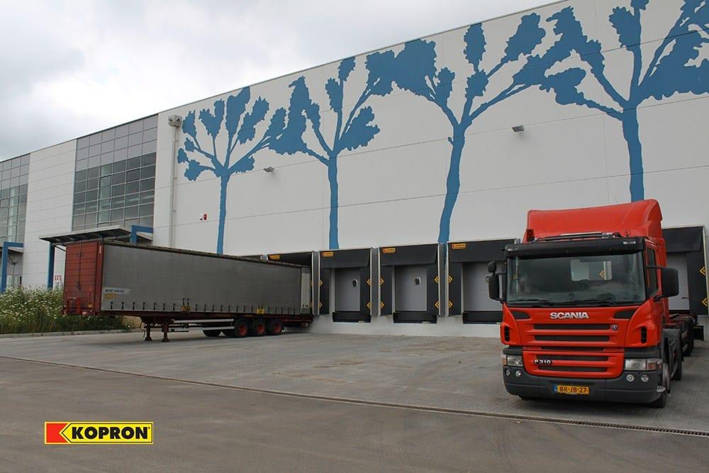 Kopron nel Parco Logistico Intermodale di Mortara