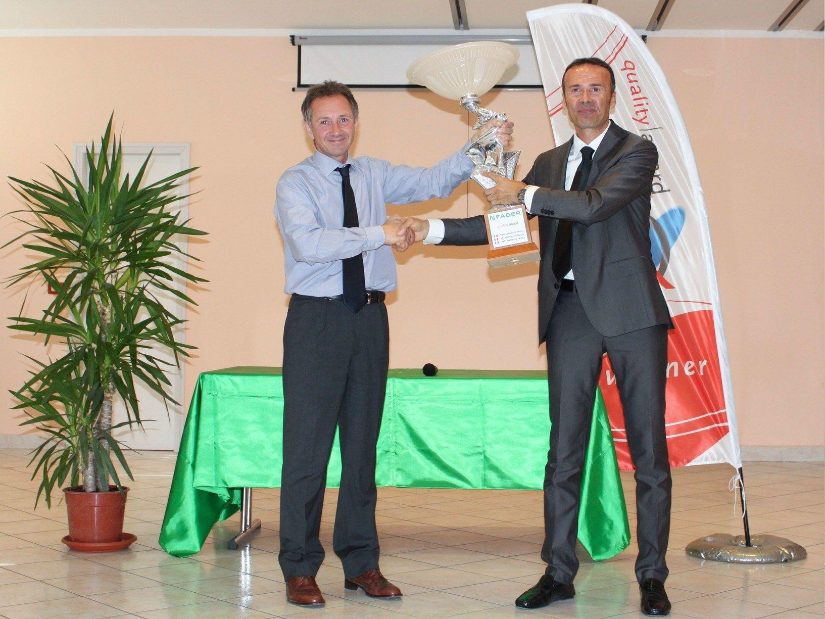 Quality Award: Faber premia per il terzo anno consecutivo lo stabilimento di Sassoferrato