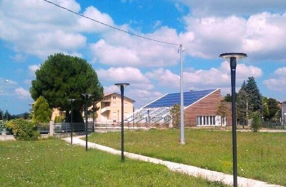 45 kWp di energia green firmata Brandoni per la nuova scuola dell'infanzia a San Firmano