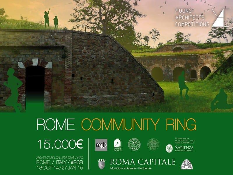 YAC dà il via al concorso di idee Rome Community Ring