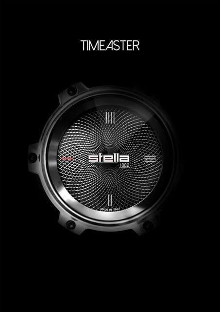 TimeAster: lo scorrere del tempo secondo Stella