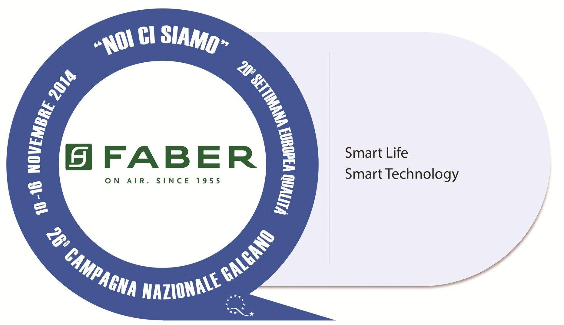 Faber aderisce alla Campagna Nazionale della Qualità e Innovazione 'Noi ci siamo'