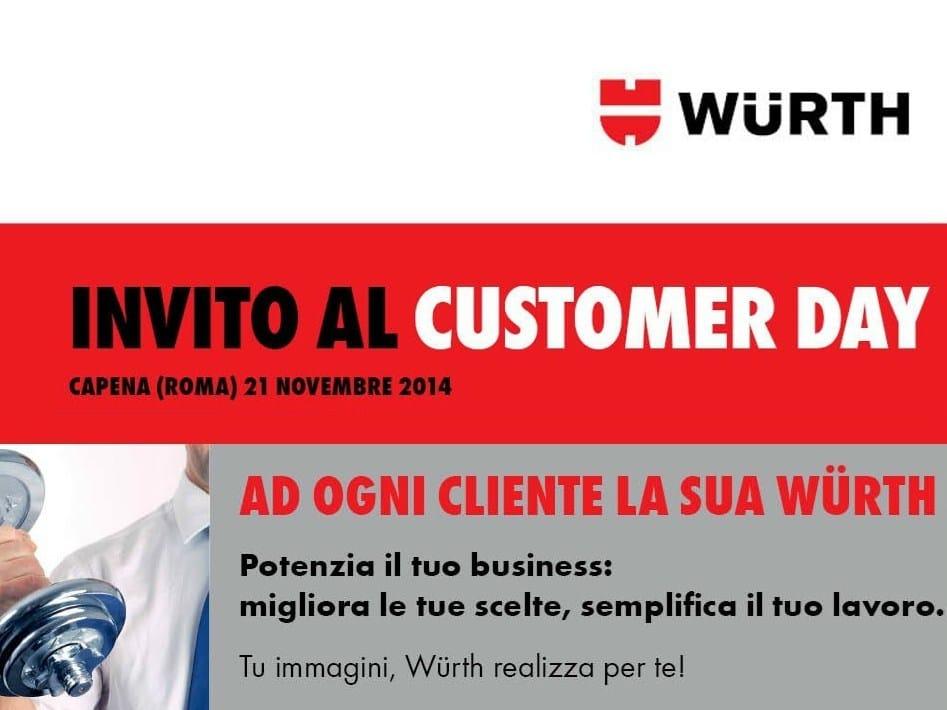 Würth Customer Day: al via la 7^ edizione