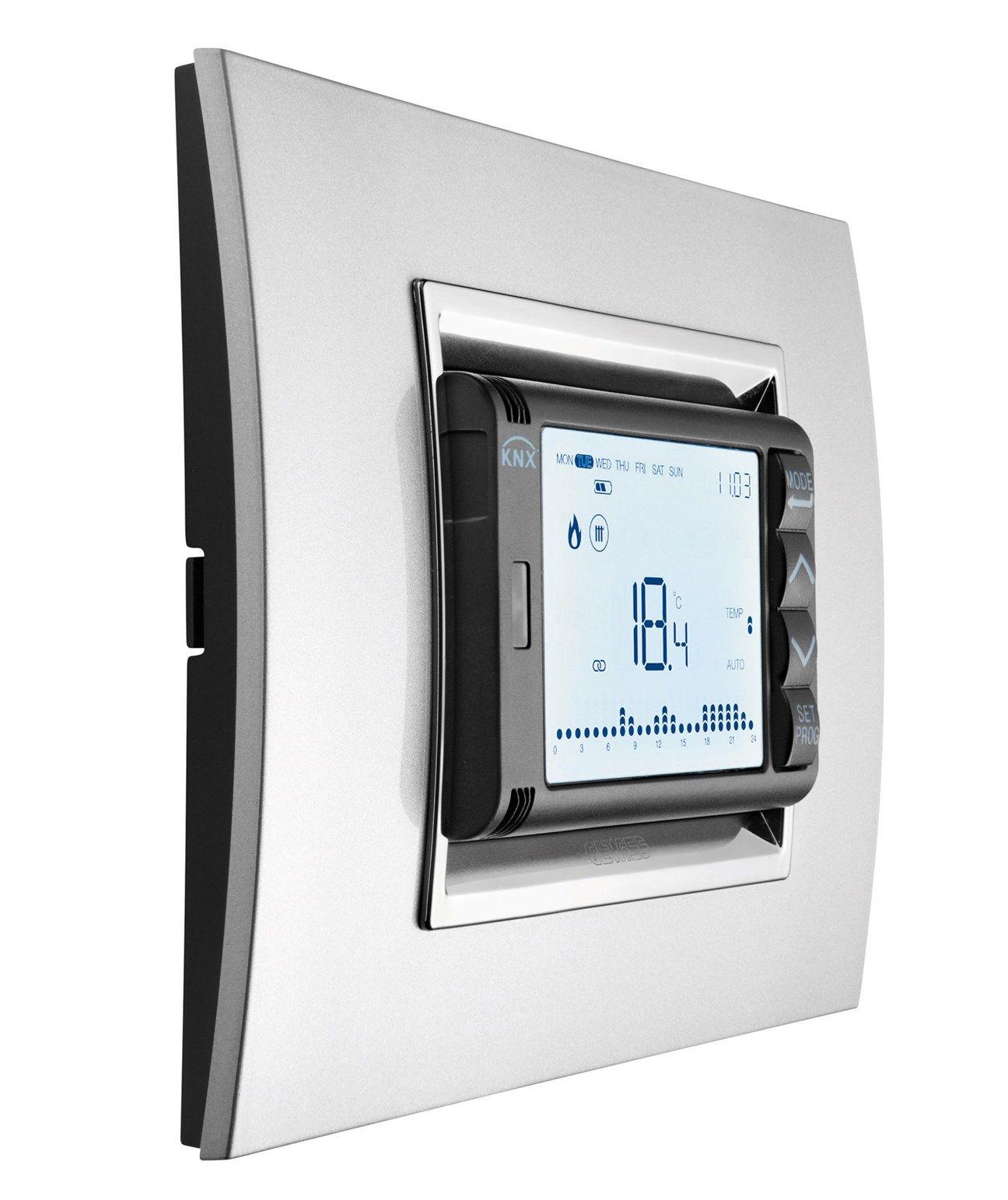 Comfort e risparmio energetico con il sistema di termoregolazione KNX di GEWISS