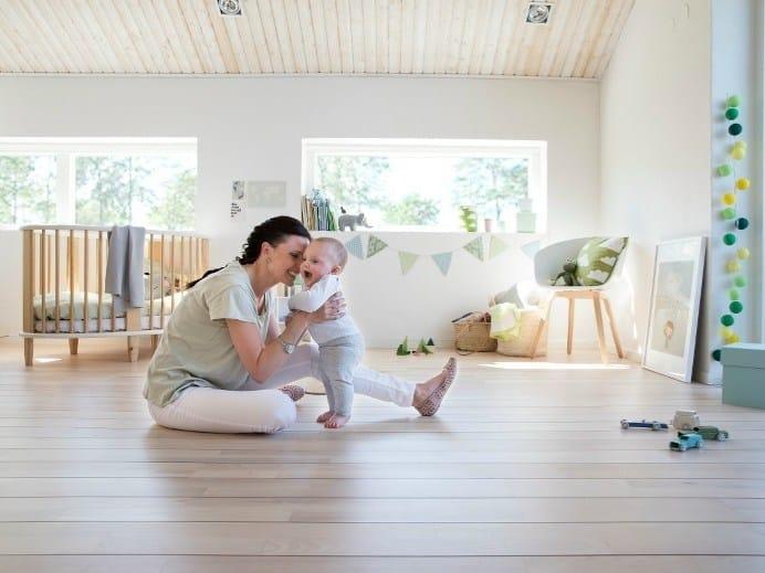 Bona: parquet pulito, qualità dell'aria