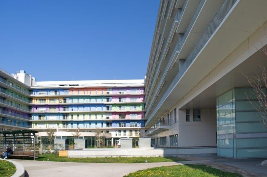 Schöck Italia per il Nuovo Centro Geriatrico di Vienna