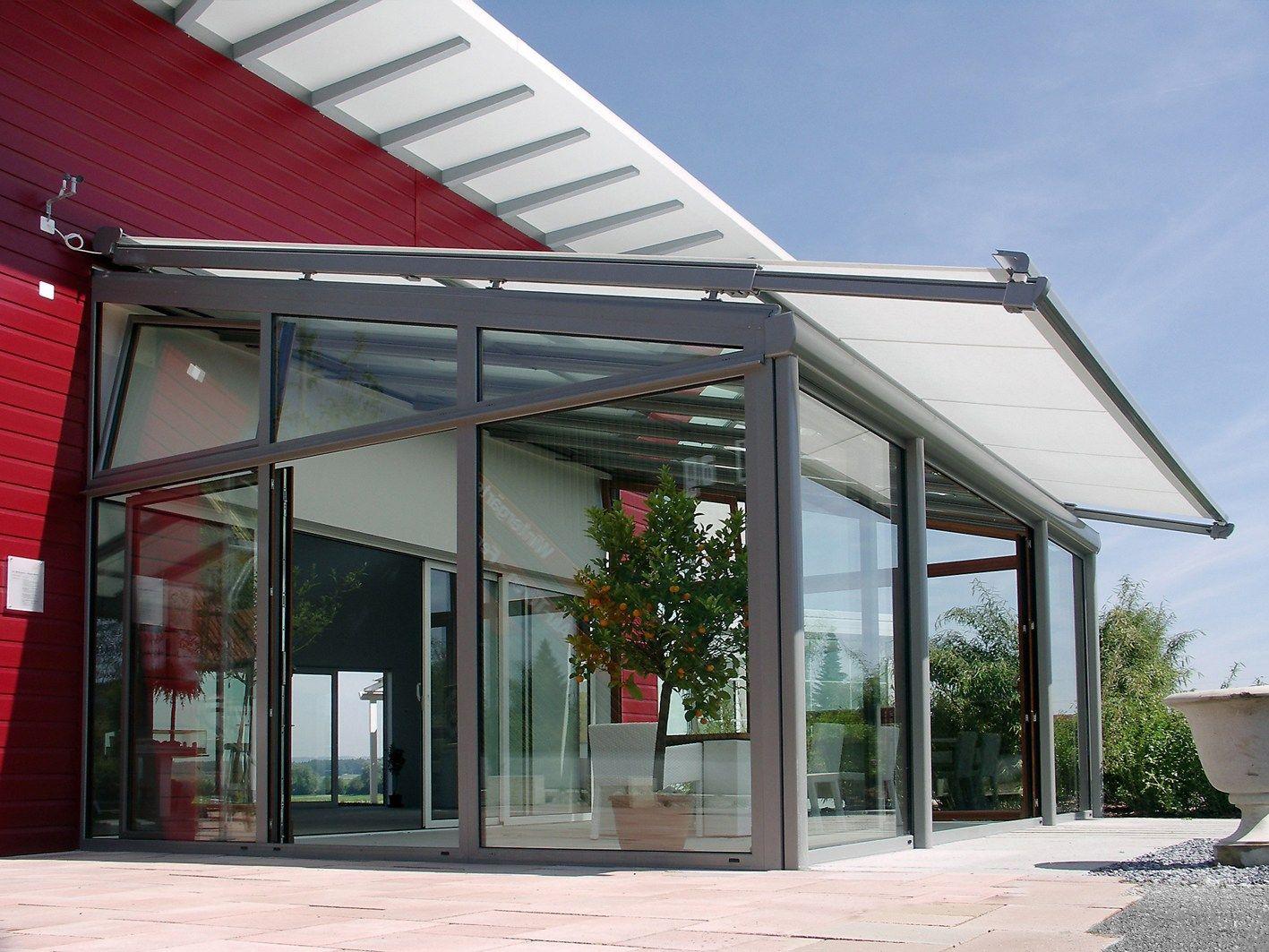 Tende Stobag per giardini d'inverno: ombreggiamento ottimale, design moderno