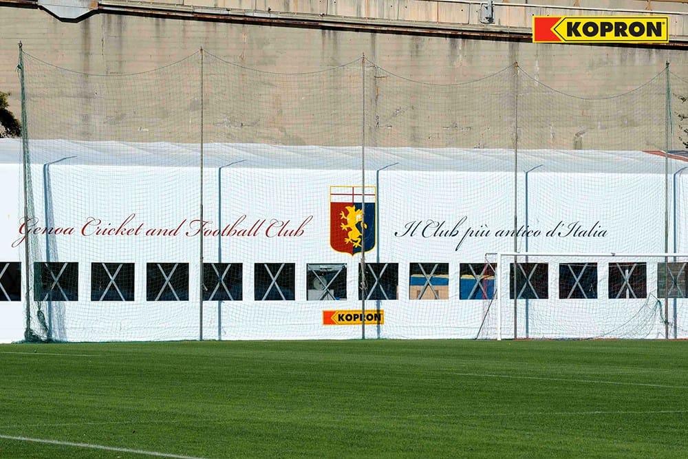 Kopron nuovo fornitore ufficiale del Genoa Cfc, il Club calcistico più antico d'Italia