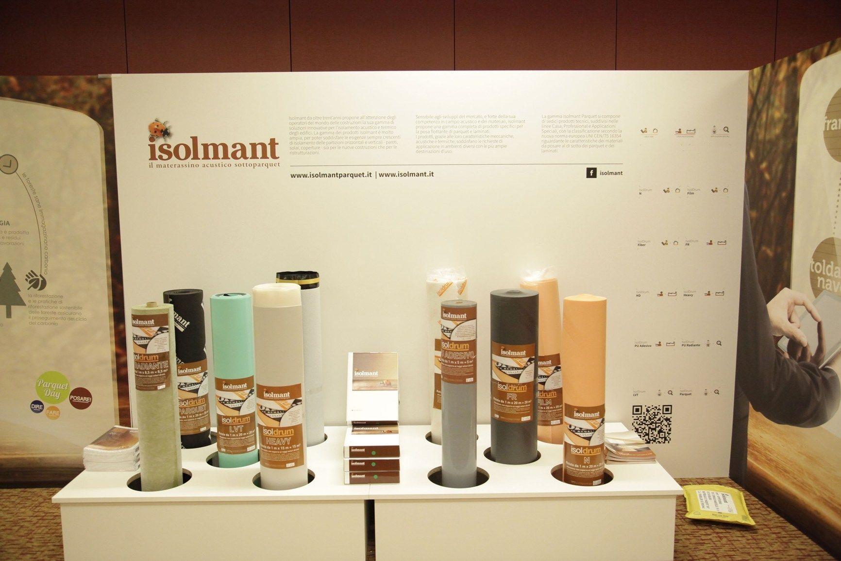 Tecnasfalti-Isolmant presenta le innovative soluzioni della Linea Parquet al 'Parquet Day'