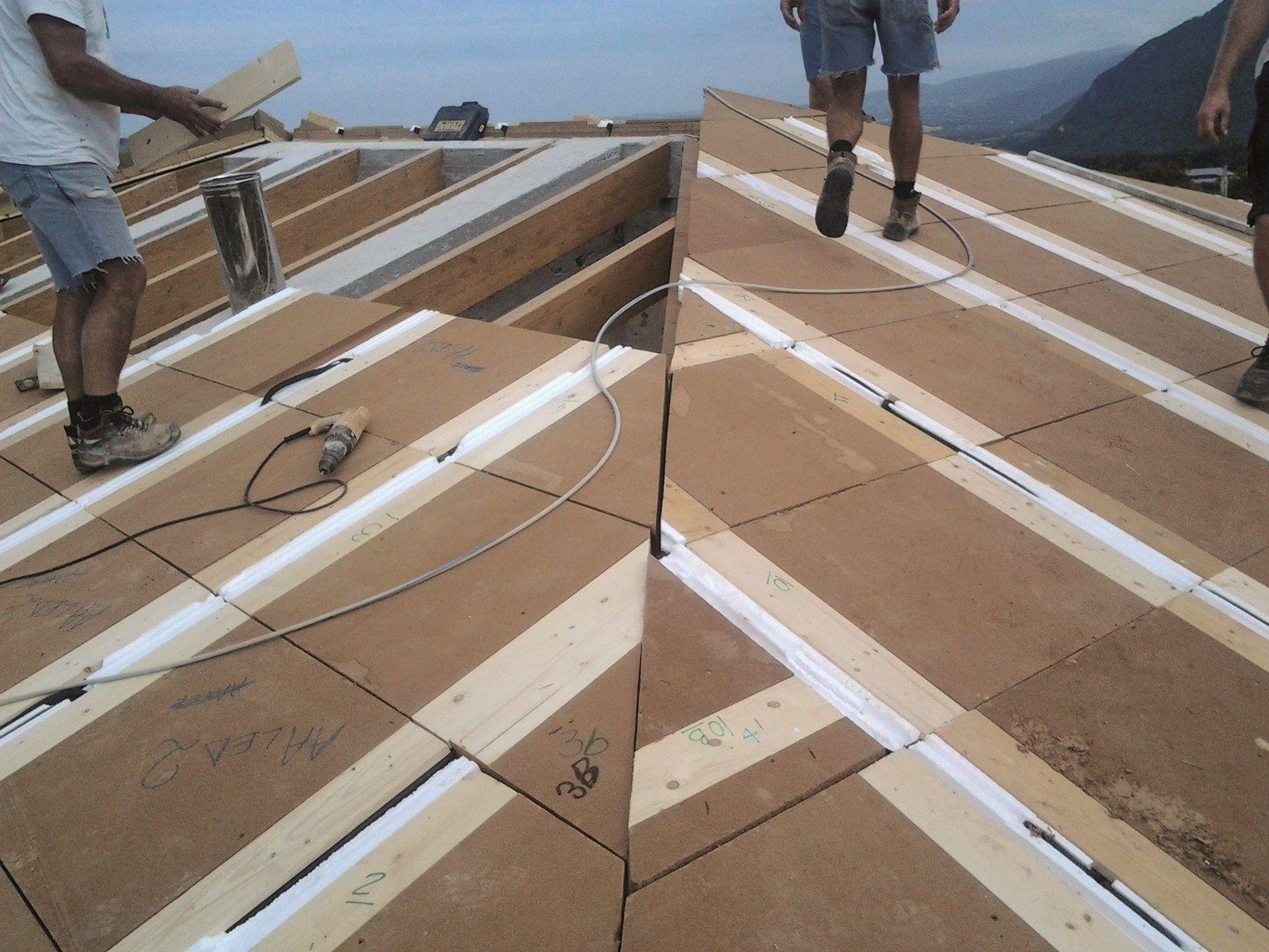 La copertura in legno hi-tech antisismica BigMat VASS per il restyling dell'azienda agricola Res Nova Il Colle