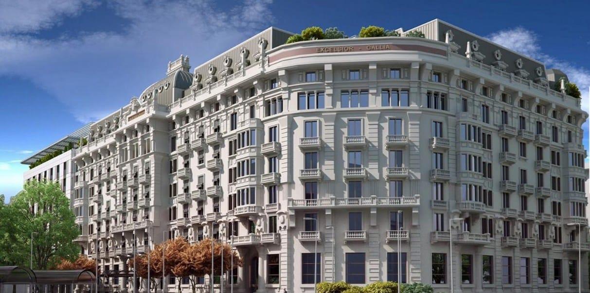 L' Excelsior Hotel Gallia di Milano sceglie Rubinetterie Stella