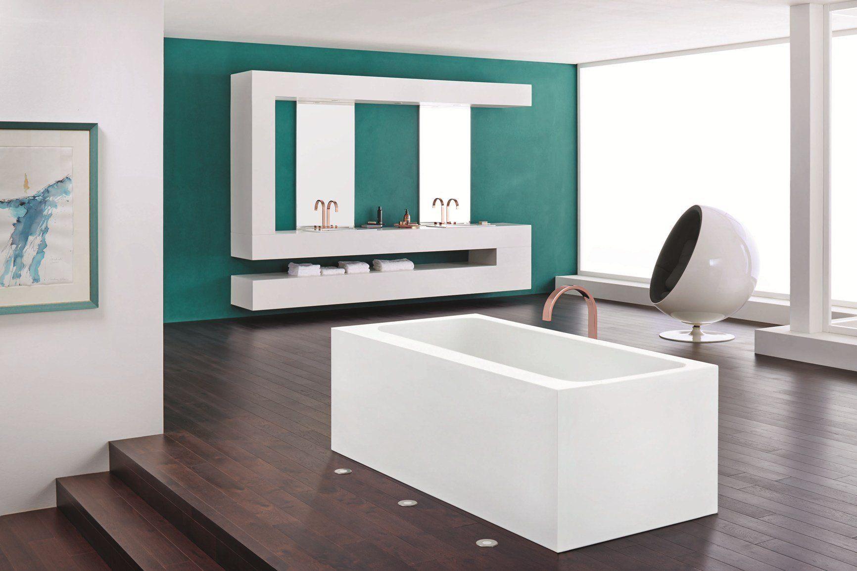 Vasca Da Bagno Kaldewei Dimensioni : Superfici continue rivestono le vasche freestanding kaldewei