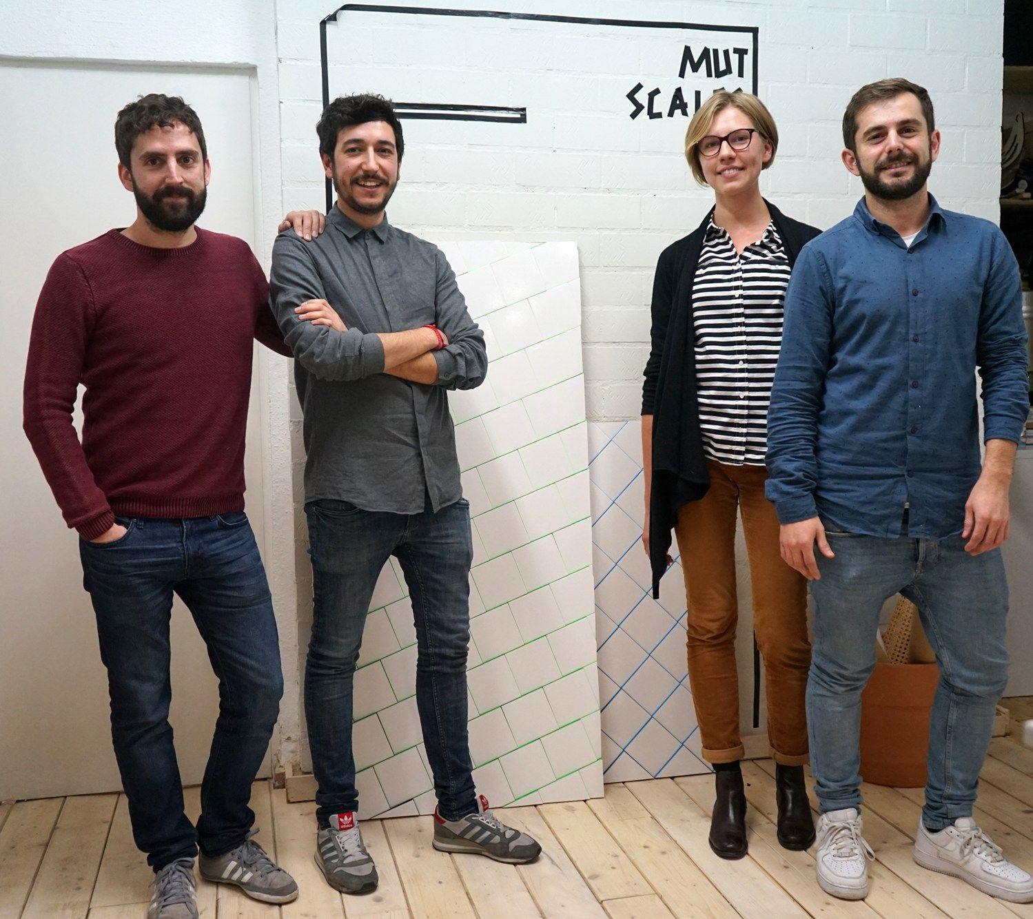 Manuel Martin, Eduardo Villalon, Emilija Cizeika, Alberto Sánchez © Archiproducts