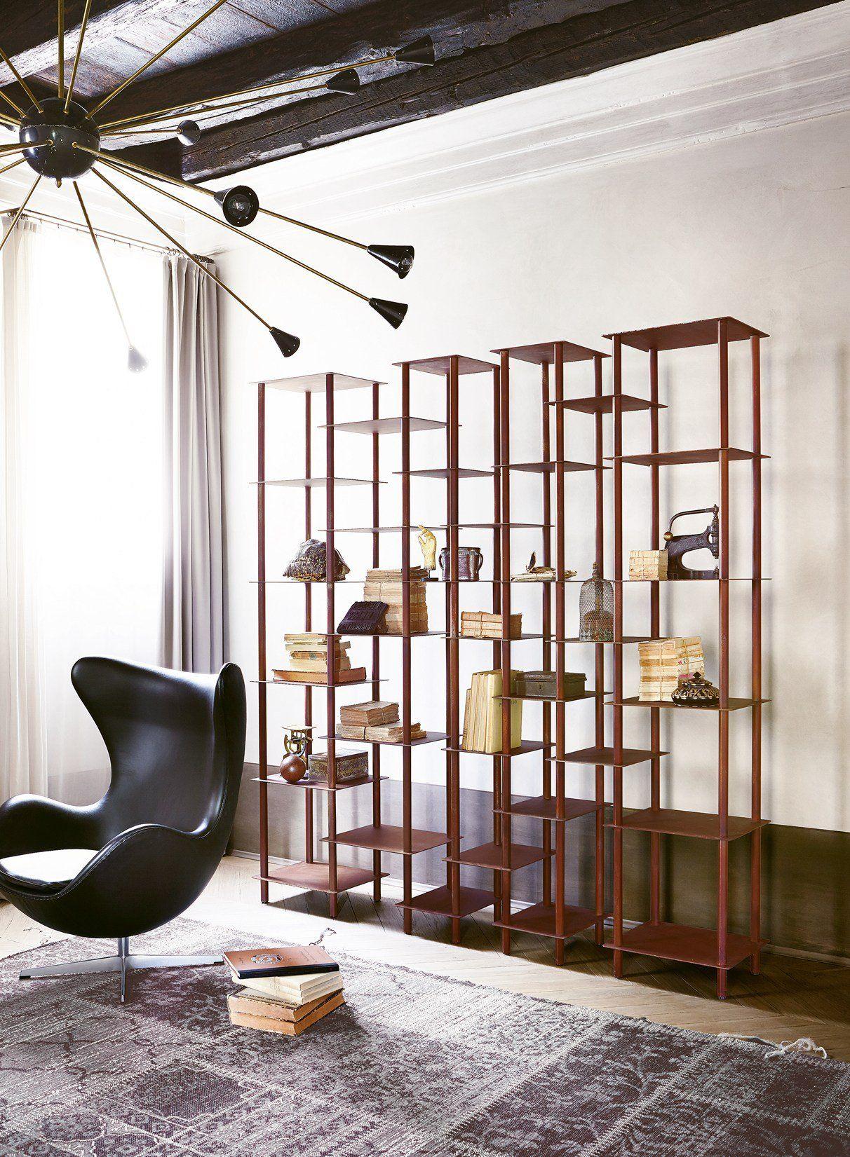 Lampade Da Tavolo Eleganti : Lamiera in acciaio corten per divani librerie lampade