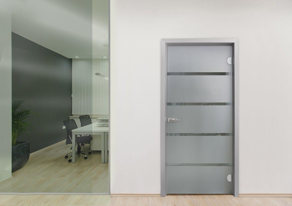 ALsistem presenta Easydoor, la nuova linea di porte interne con telaio in alluminio