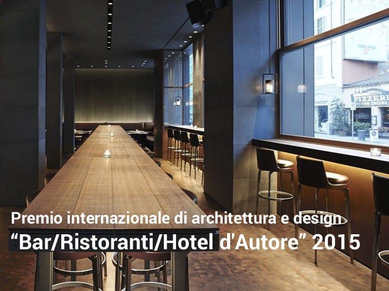 """""""Bar/Ristoranti/Hotel d'Autore"""" scade il 19 maggio"""