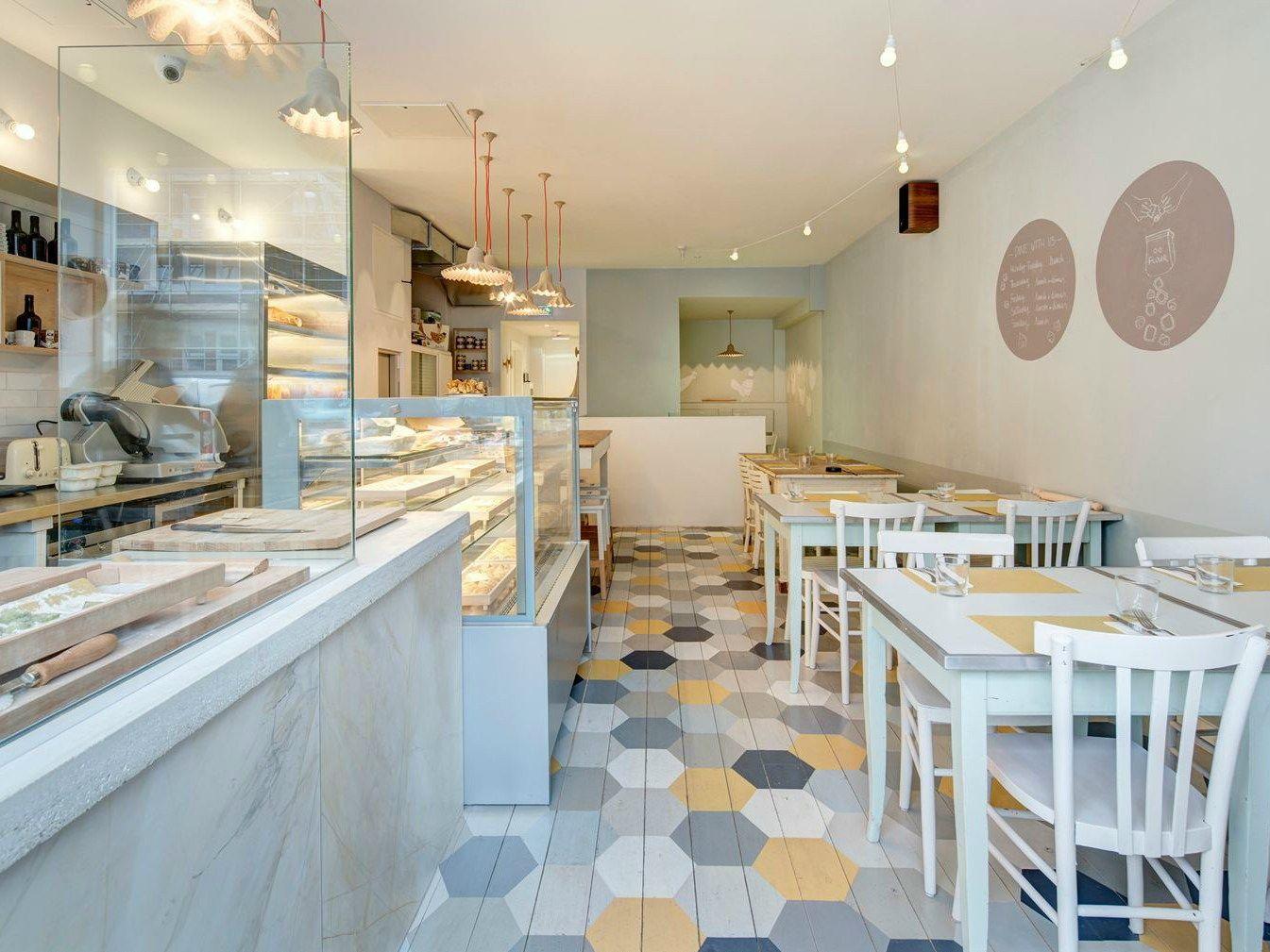 A Londra il pastificio-ristorante progettato da elips design