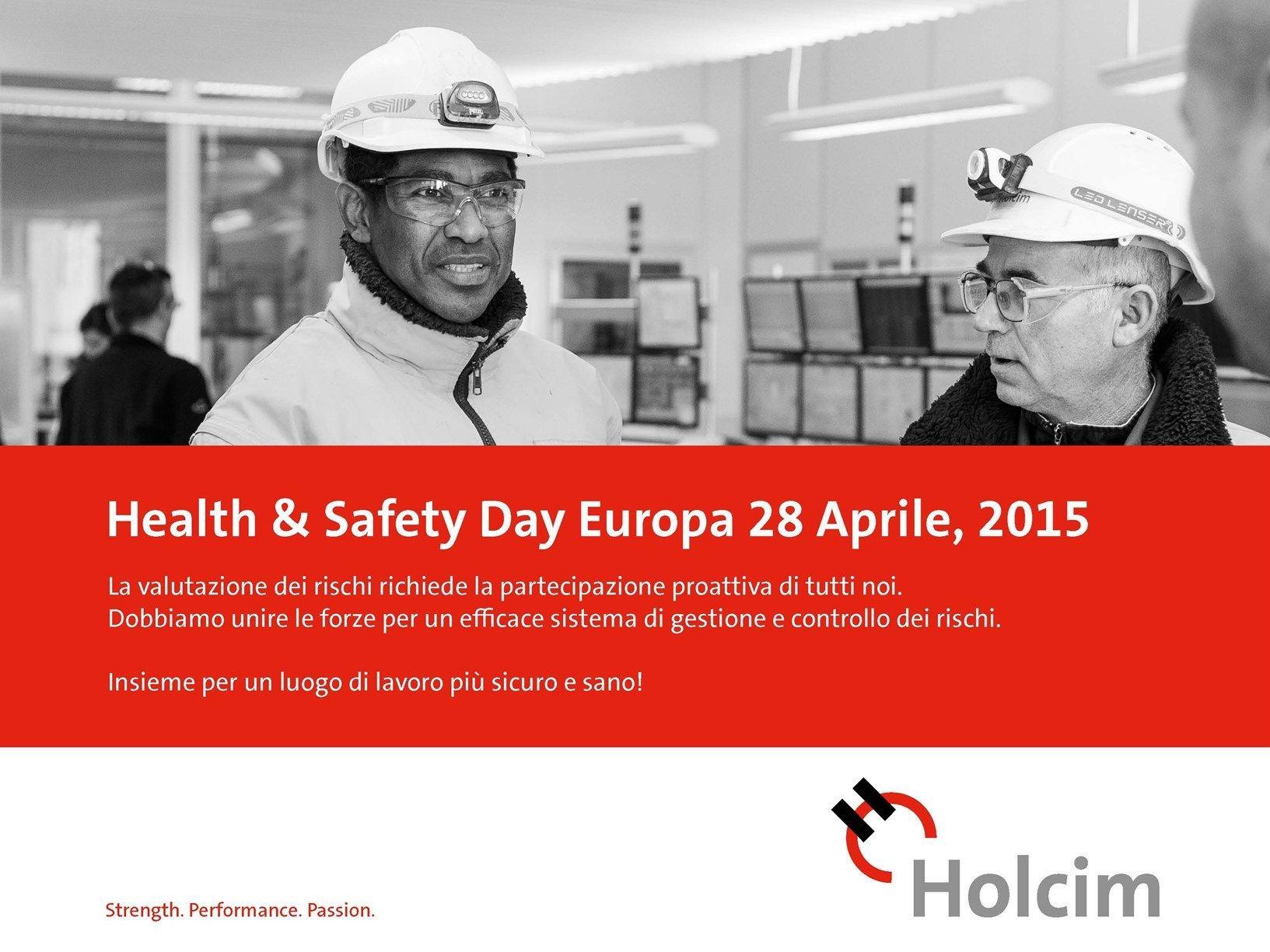 Holcim Health & Safety Day 2015