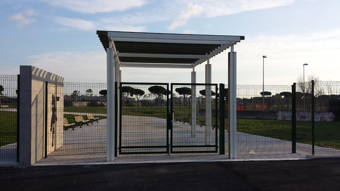 Parco dei Fumetti: recinzioni Betafence per la protezione dei bambini nelle aree gioco