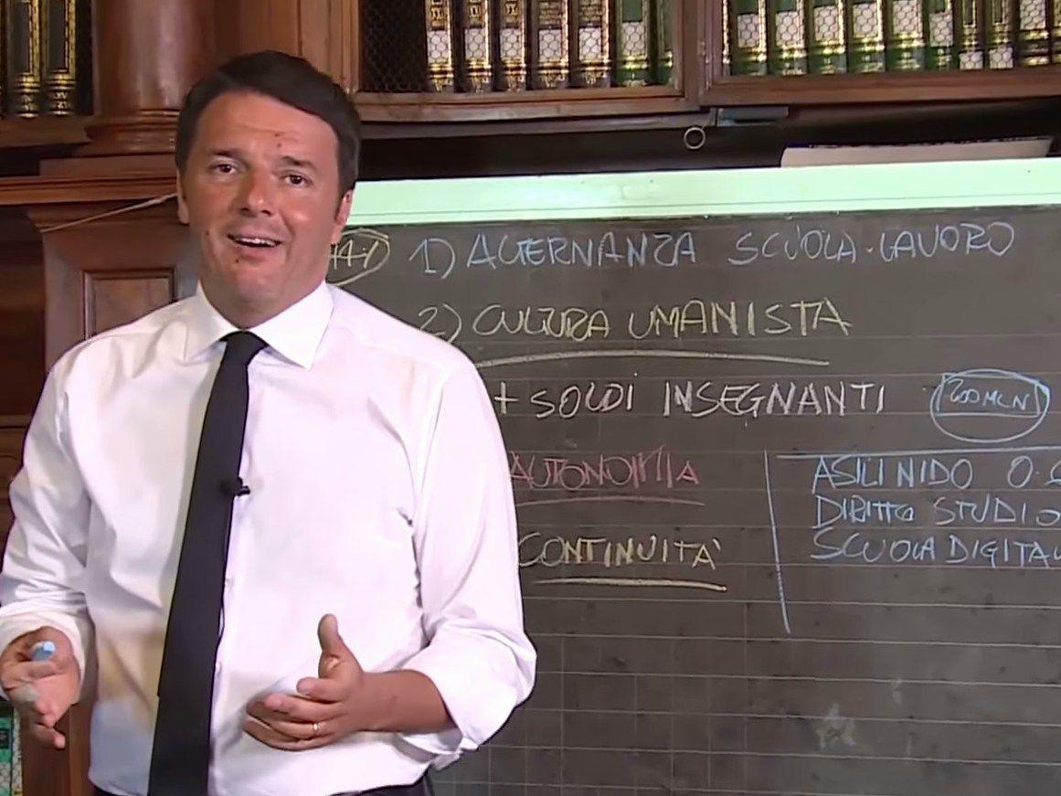 Premier Matteo Renzi: 4 miliardi di euro per l'edilizia scolastica