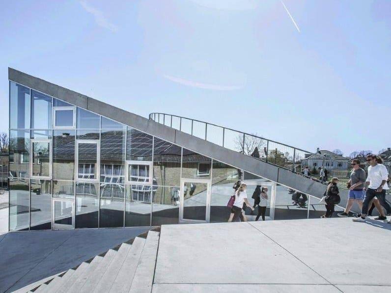 BIG firma un nuovo edificio per le attività culturali a Hellerup