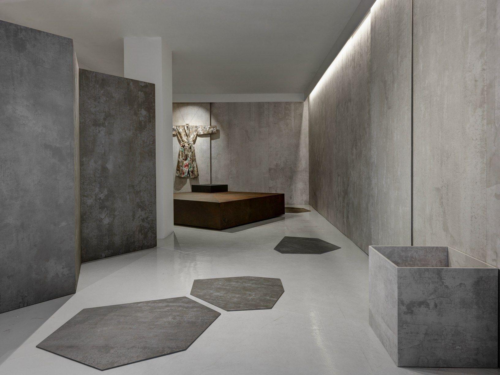 Toto with laminam 39 design exchange 39 - Pavimentos ceramicos interiores ...