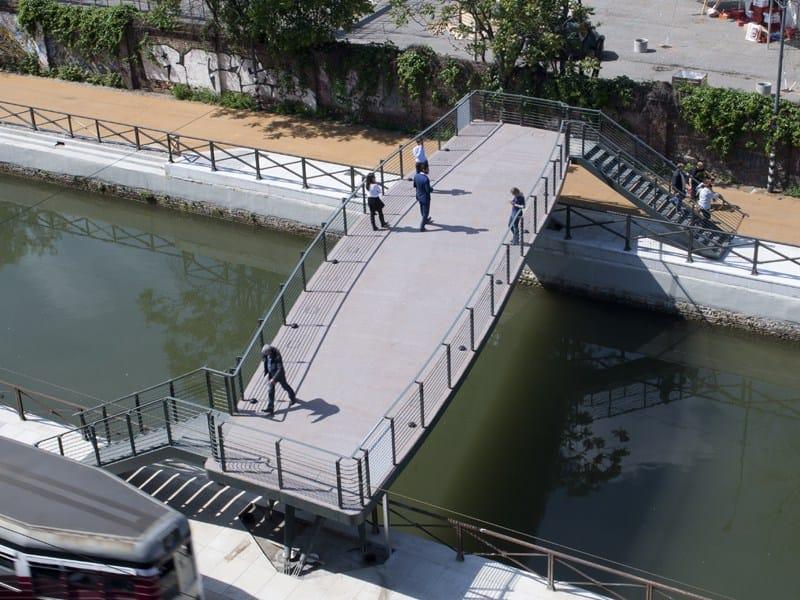 A Milano un nuovo ponte pedonale sui Navigli by Lombardini22