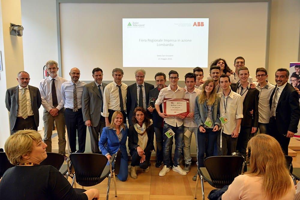Studenti vincitori (Istituto Marconi - Bergamo)