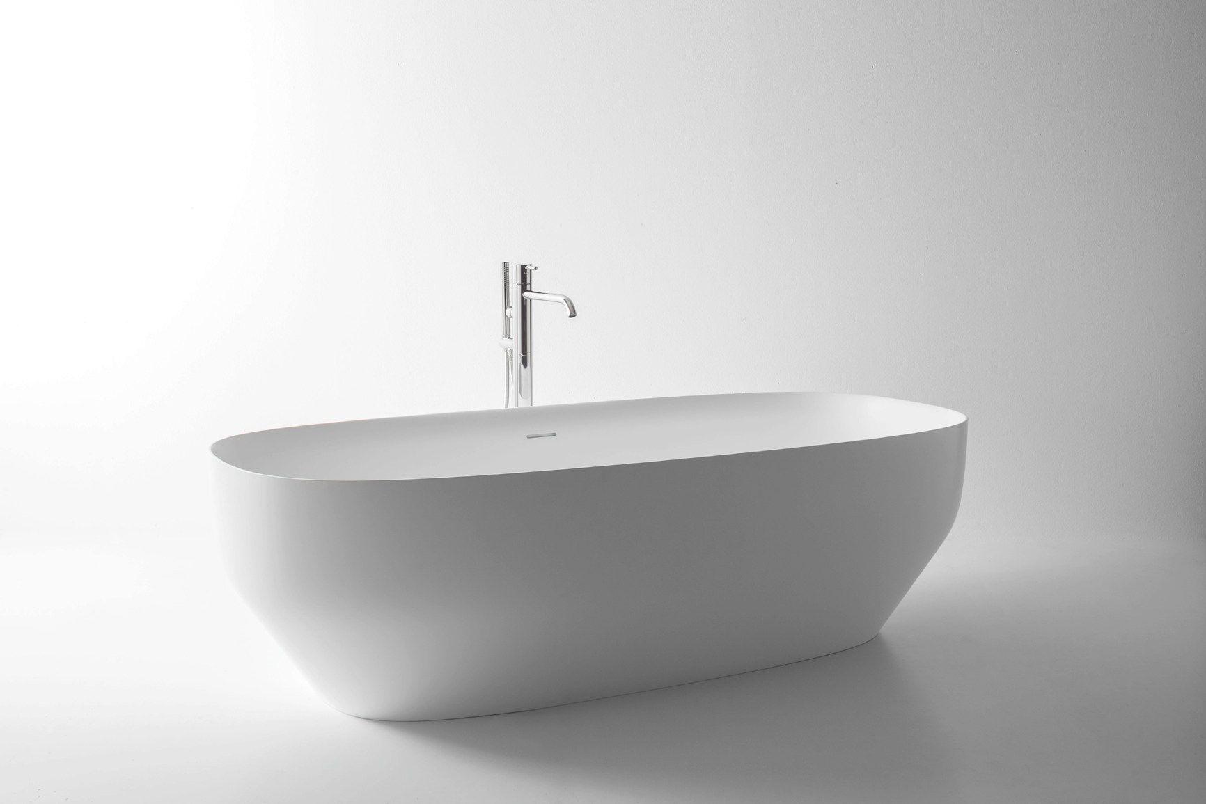 Lavabi Bagno In Vetroresina.Il Total Bathroom Di Antoniolupi Vasca E Lavabo Ago