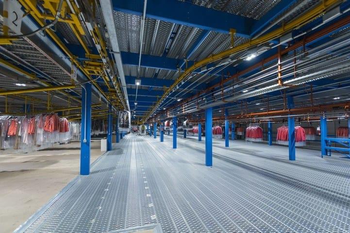 Il polo logistico M2LOG del Gruppo Miroglio adotta la tecnologia Gewiss Smart [4] per l'illuminazione dei propri hub
