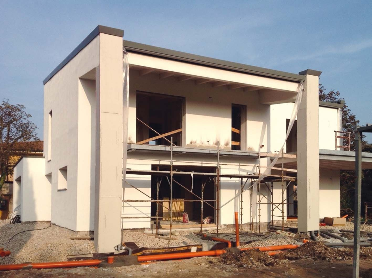Lecablocco Bioclima Zero per una nuova residenza in provincia di Mantova