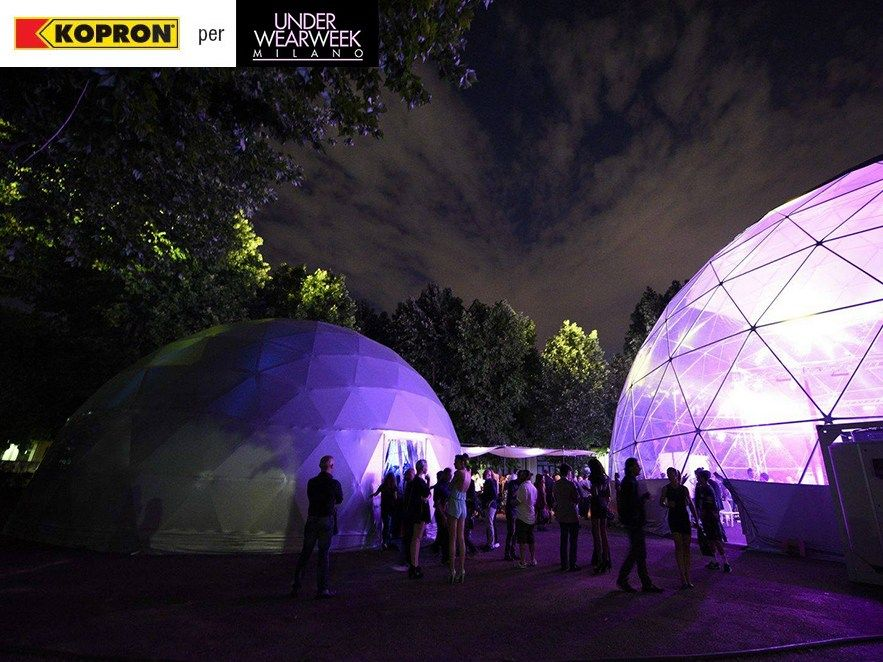 """Kopron per l'evento """"UnderWearWeek Show: La moda allo Scoperto"""""""