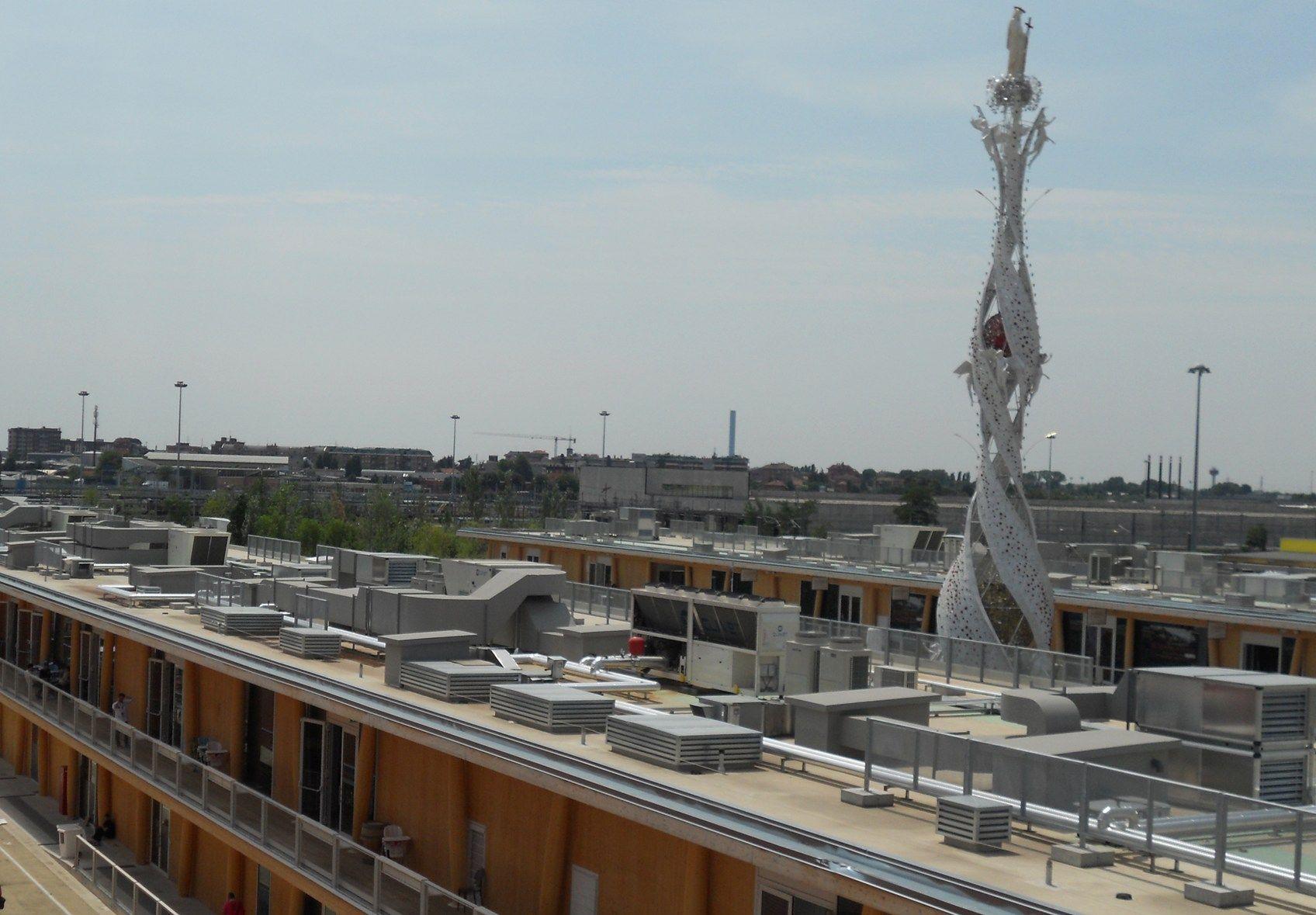 Pompe di calore e rooftop Clivet per gli 8.000 metri quadri espositivi di Eataly, ad Expo Milano 2015