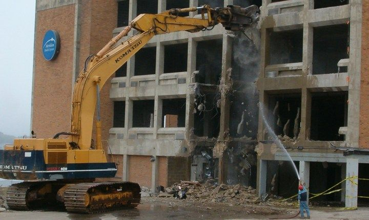 I materiali derivanti dalla demolizione di edifici non possono essere riutilizzati