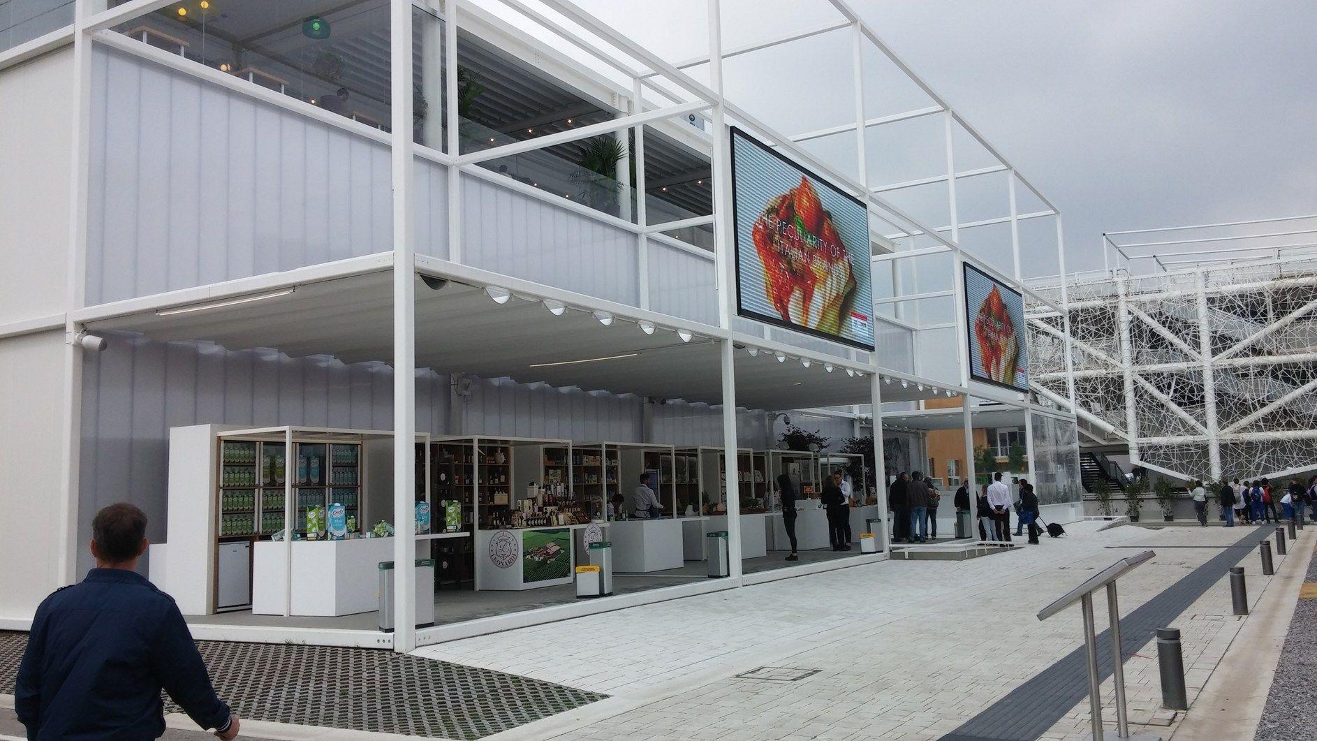 Sistemi Clivet Ad Expo 2015 per il padiglione 'CIBUS è Italia'