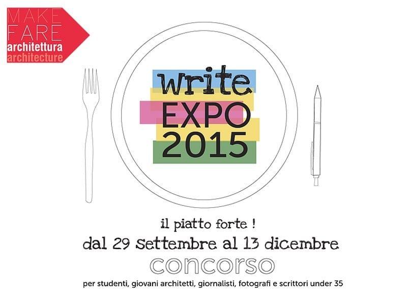 """Al via """"write EXPO 2015"""" per gli under35"""