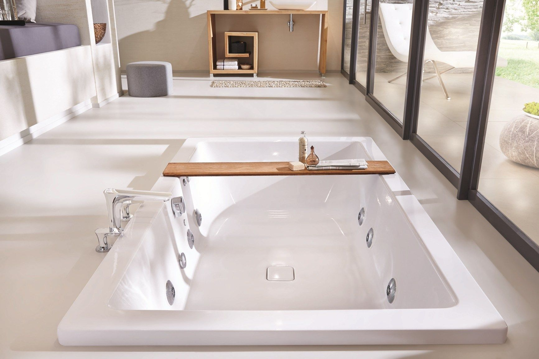 Vasca Da Incasso Kaldewei : La vasca da bagno come fulcro della stanza