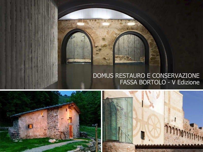 V Premio Internazionale Domus Restauro e Conservazione