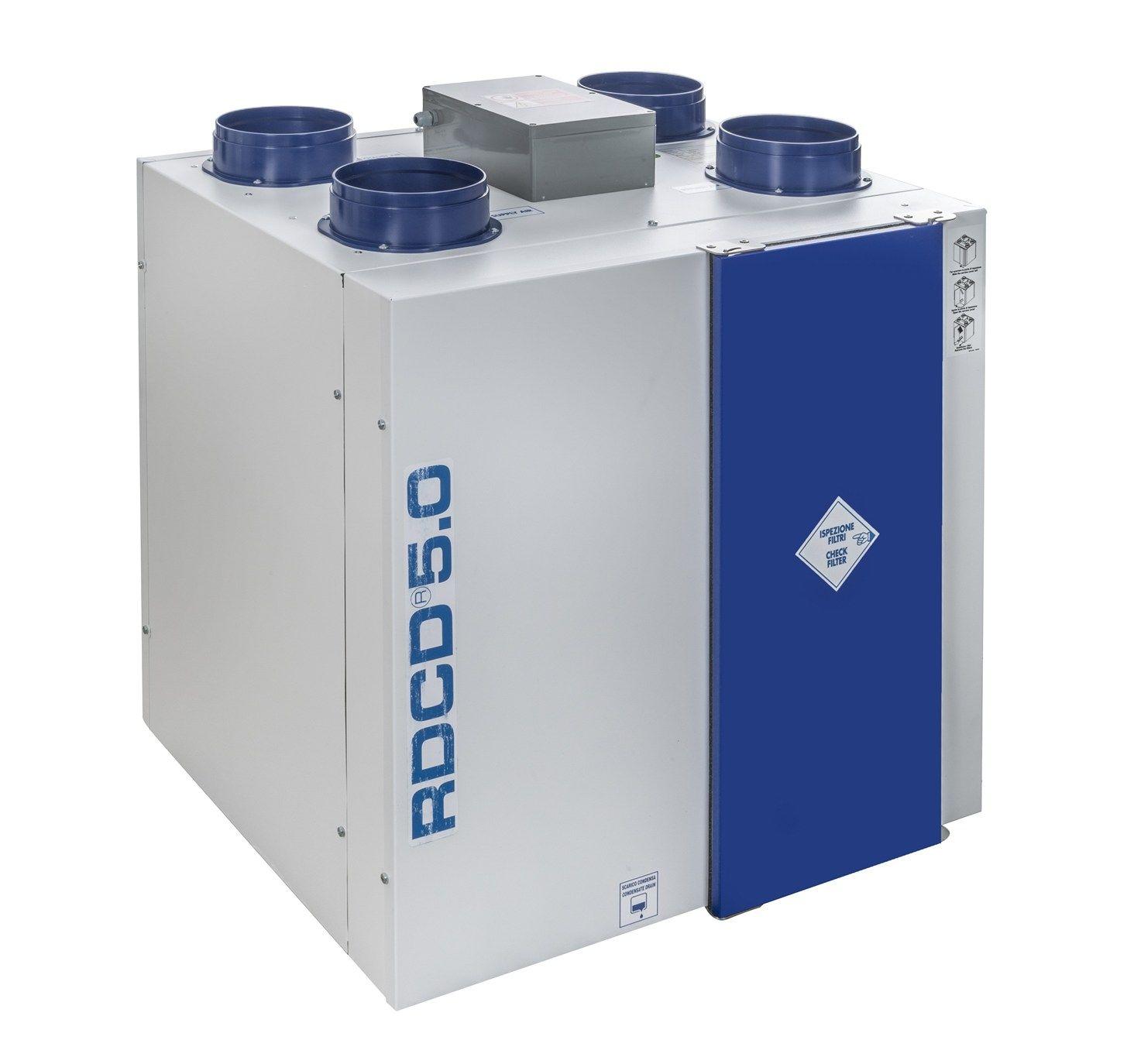 Wavin Chemidro presenta la nuova linea di unità di ventilazione meccanica controllata