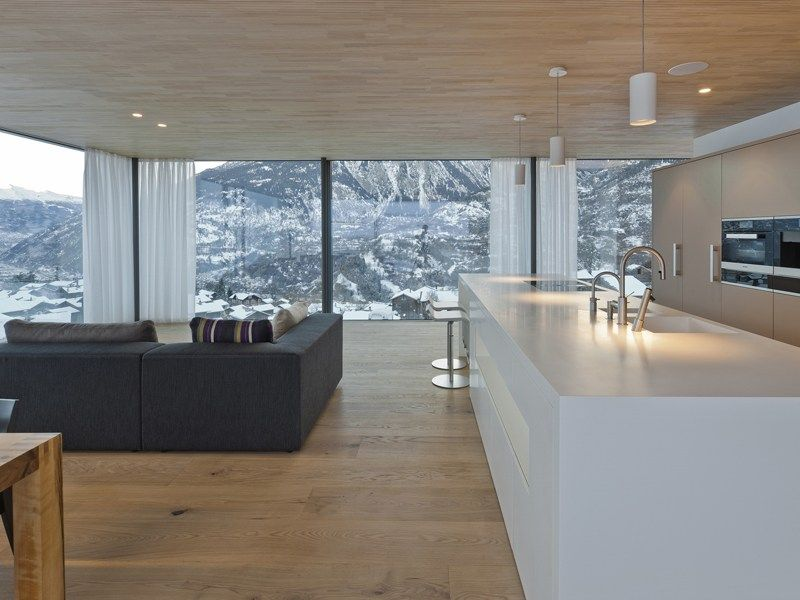 Termen, Svizzera: la casa unifamiliare by Werlen Matthias
