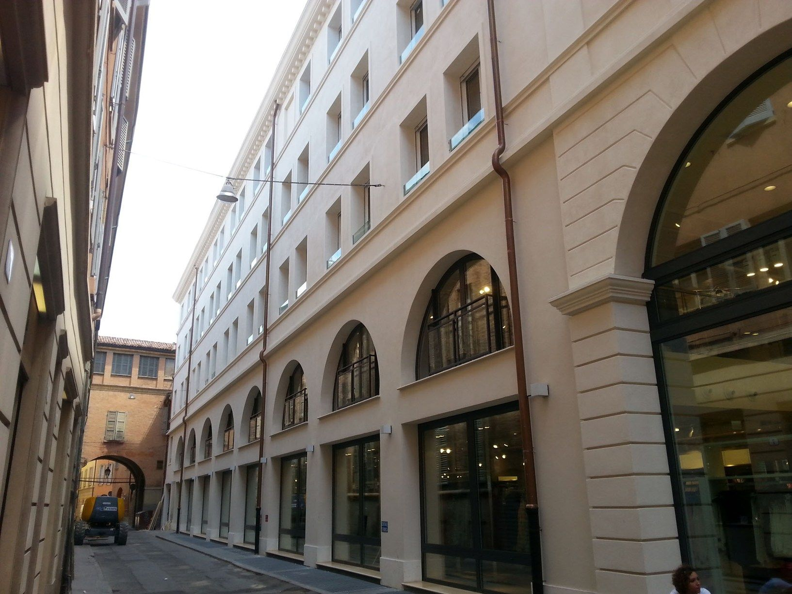 Riqualificazione leggera per Palazzo Cremonini
