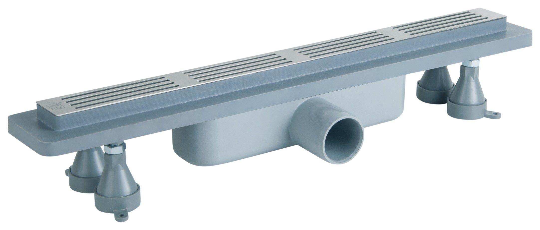 Basicflow, la caditoia a pavimento compatta per docce e zone wellness
