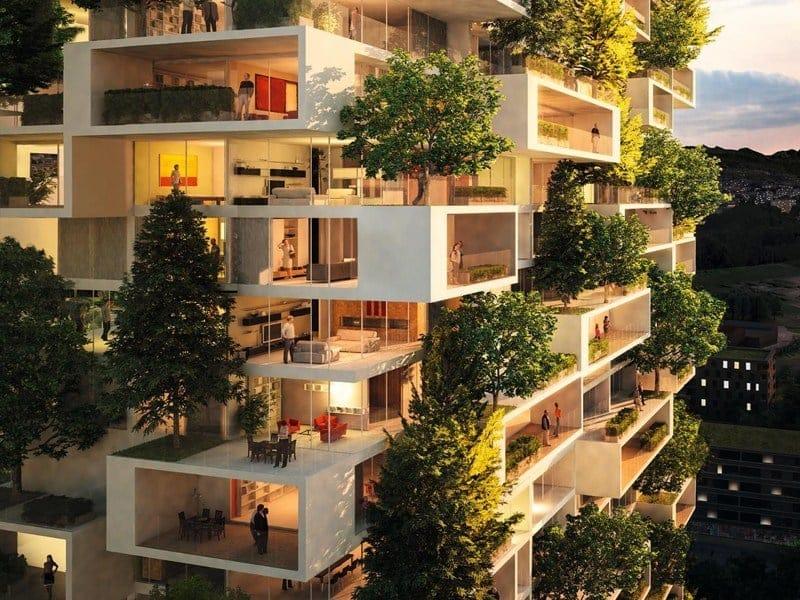 Svizzera nascer a losanna un nuovo 39 bosco verticale 39 for Studio design interni milano