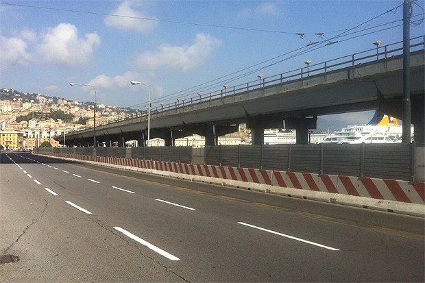 Recinzione mobile per cantieri stradali