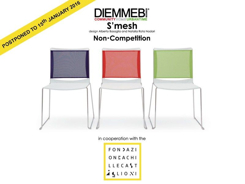 S'mesh. Dress your chair: il primo non-concorso di design